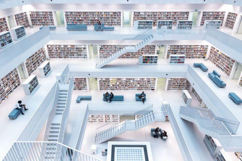 Siapa sangka jika perpustakaan ini menjadi pemenang foto travel terbaik 2017