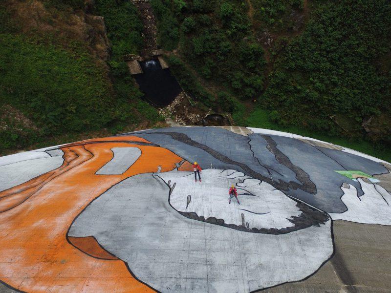 mural terbesar di dunia