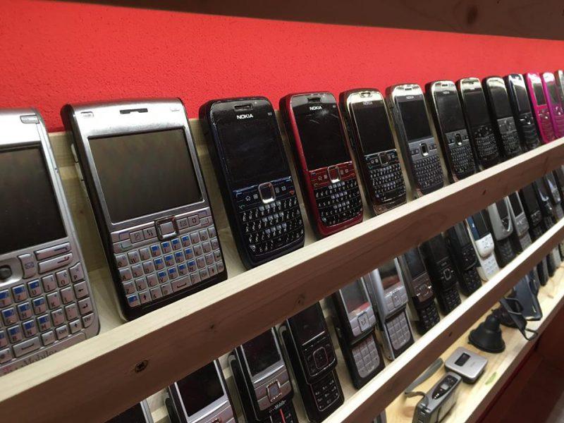 museum handphone