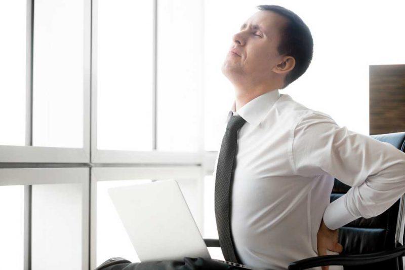 pekerja kantoran stress berat