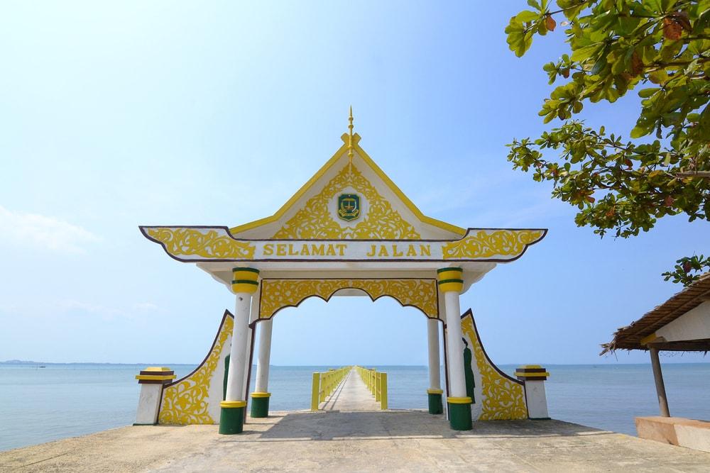 Jadi Trending Topic di Medsos, Yuk Intip Cantiknya Pesona Pulau Penyengat di Riau