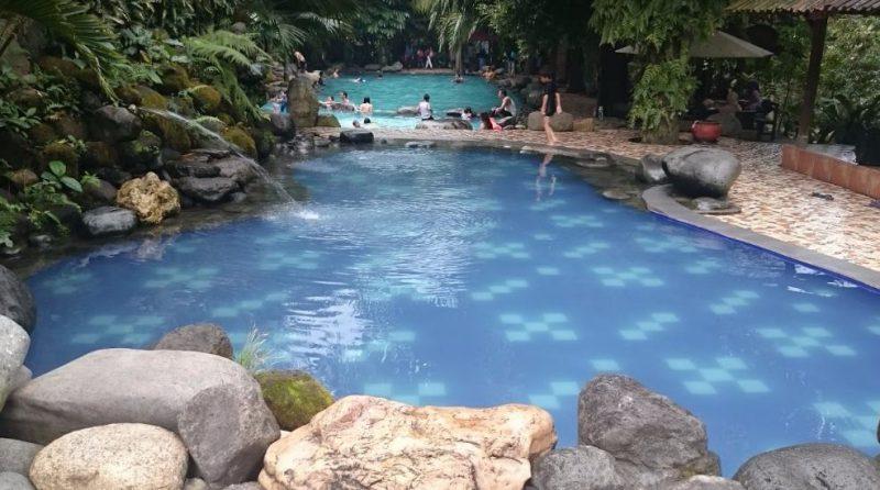 wisata air watu gunung semarang