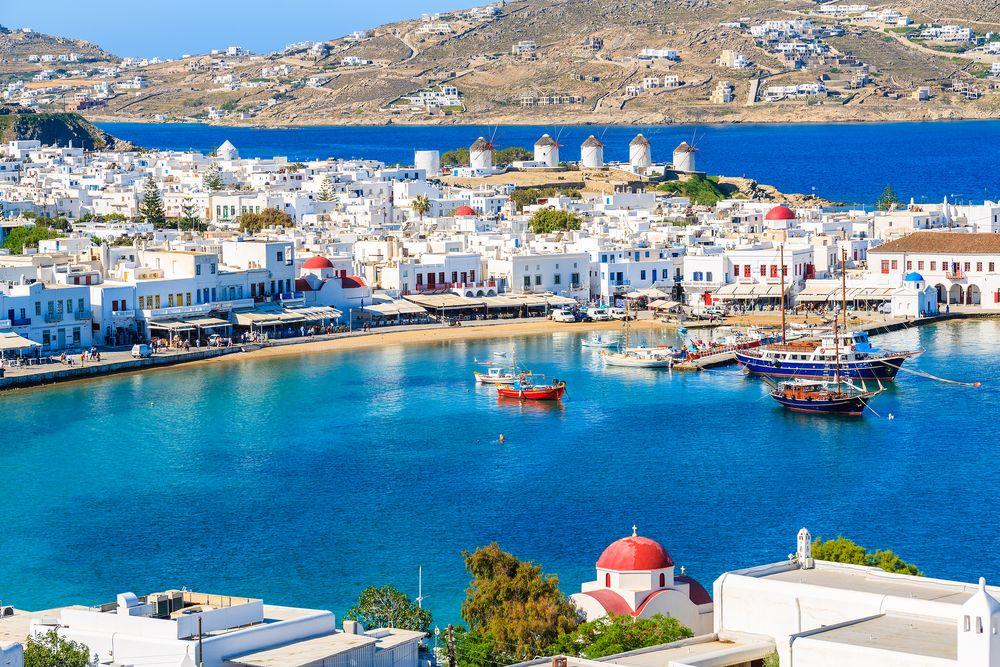 Pulau Cyclades, Yunani