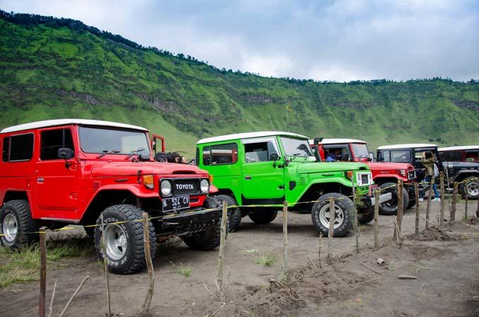 jeep ke gunung bromo
