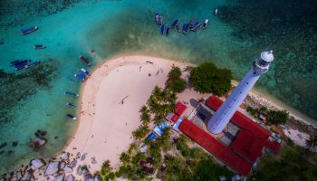 Aerial View Belitung