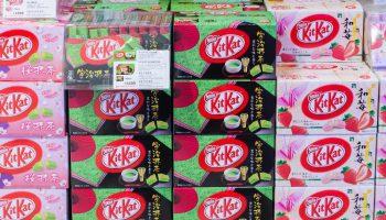 Display KitKat di Jepang