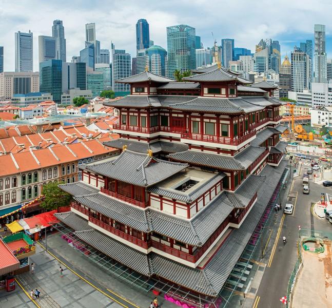 5 Tempat Wisata Religi di Singapura dengan Bangunan Instagenik