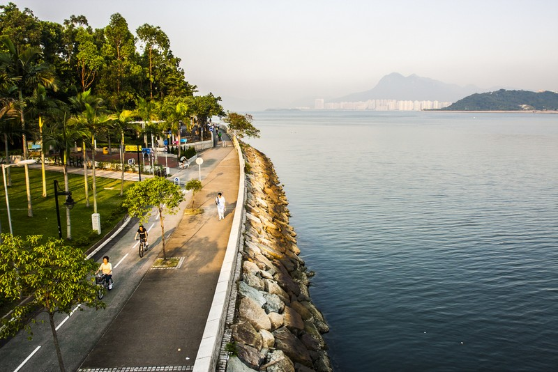 bersepeda di Hong Kong