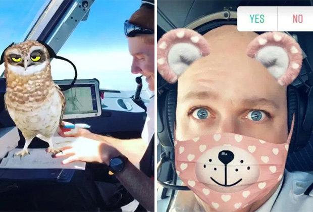 pilot easyjet bermain snapchat di pesawat