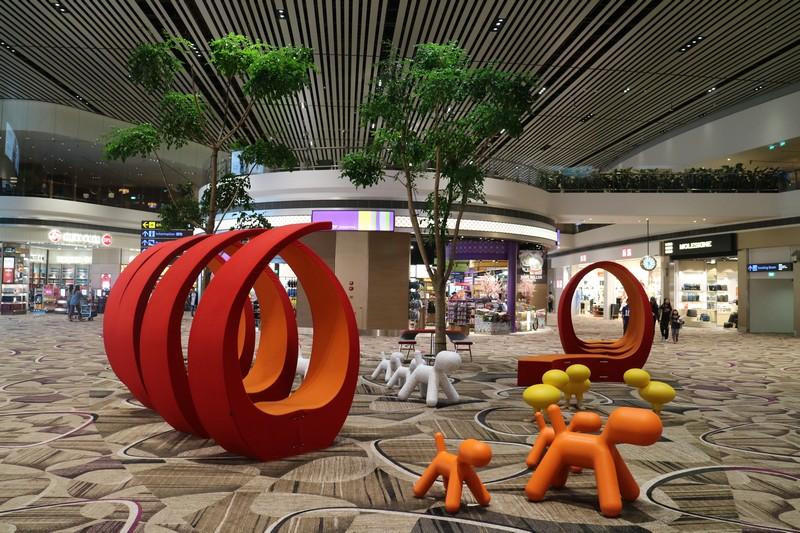 Spot Instagramable di Terminal 4 Bandara Changi Singapura