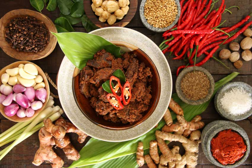 makanan khas sumatra barat