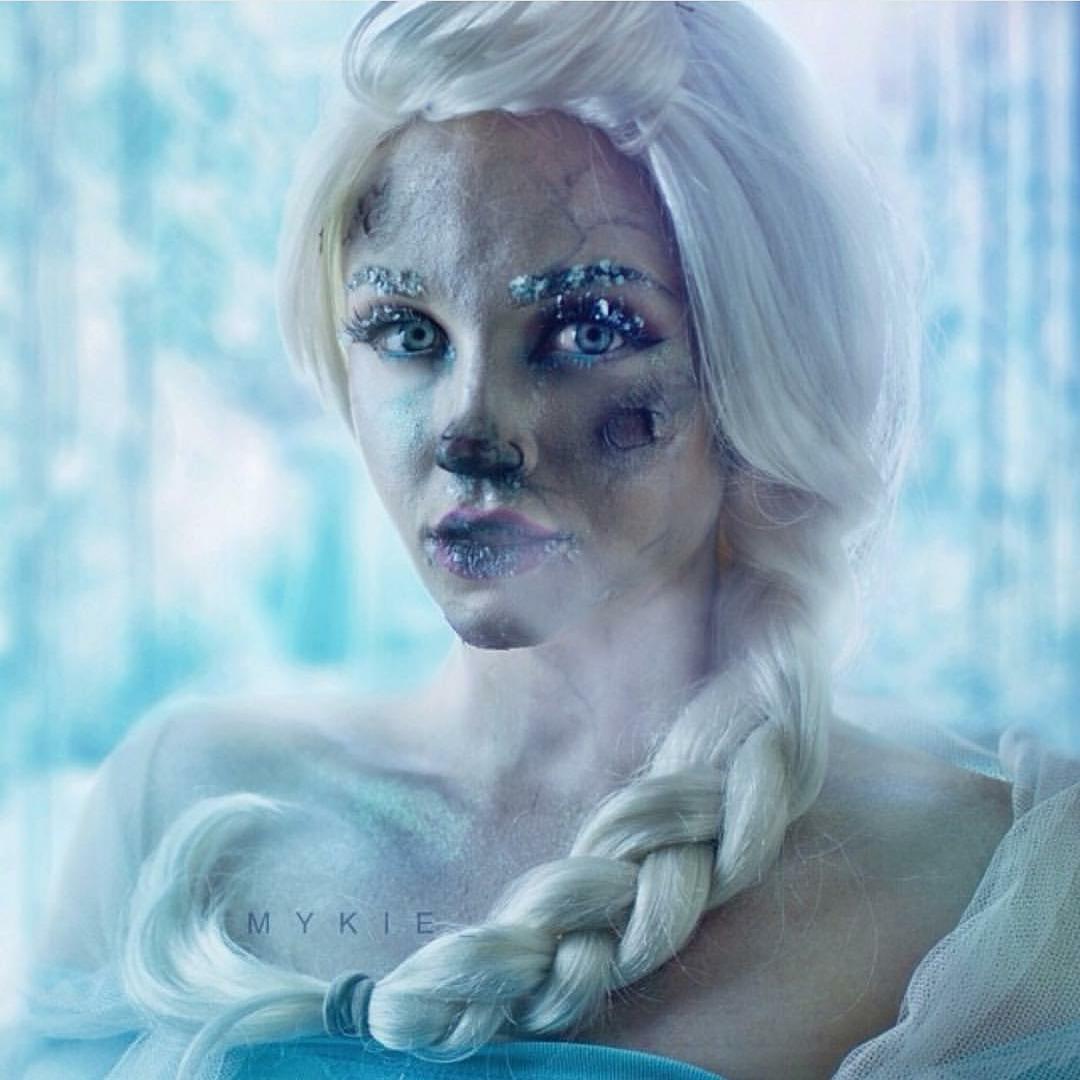 Lebih Seram Dari Valak, Elsa Frozen Ini Berubah Jadi Menakutkan