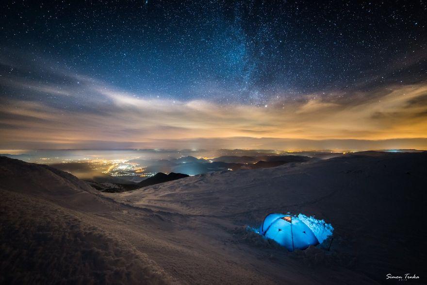 Pasangan Pendaki Gunung