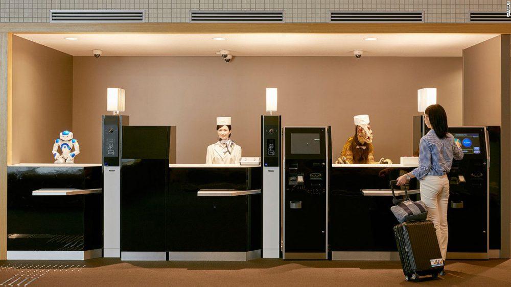 Hotel Robot Pertama di Dunia Berada di Jepang