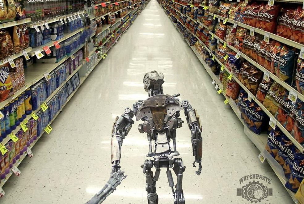 Parodi Pasangan Robot Pose 'Follow Me' di Instagram Bikin Netizen Ngakak