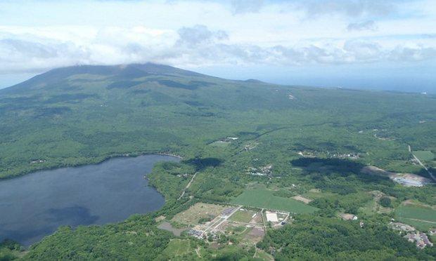 Daerah hutan tempat Yamato hilang
