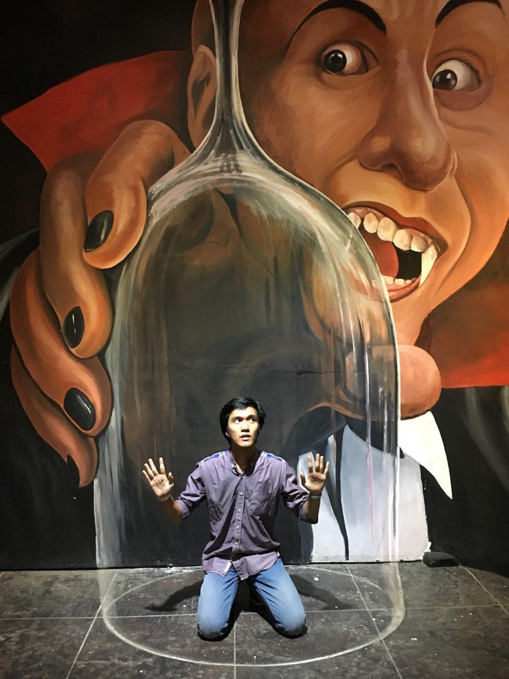 Wah, Serunya Selfie di Kampung 3D Malang Ini