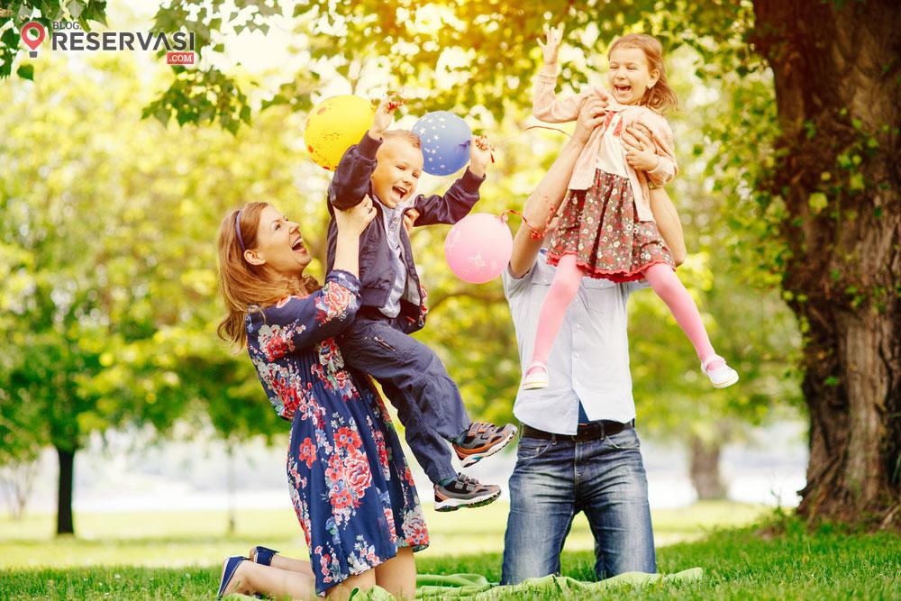9 Tips Wisata Bersama Keluarga Setelah Lebaran