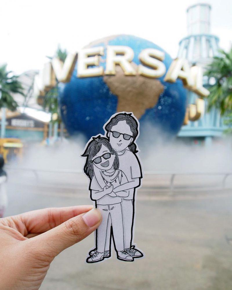 Tempat Wisata Indonesia Ini Mendunia Karena Doodles