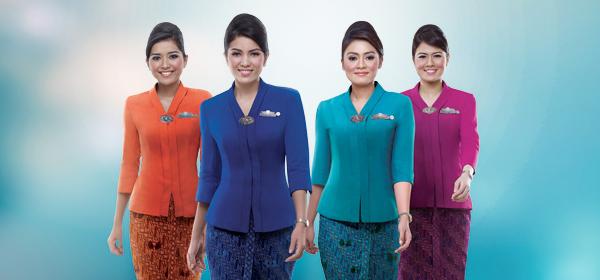 Arti dari Baju yang Dipakai Pramugari Garuda Indonesia
