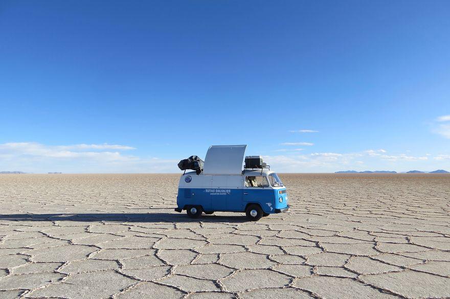 Mengubah Mobilnya Menjadi Food Truck, Pria Ini Bertekad Untuk Keliling Dunia