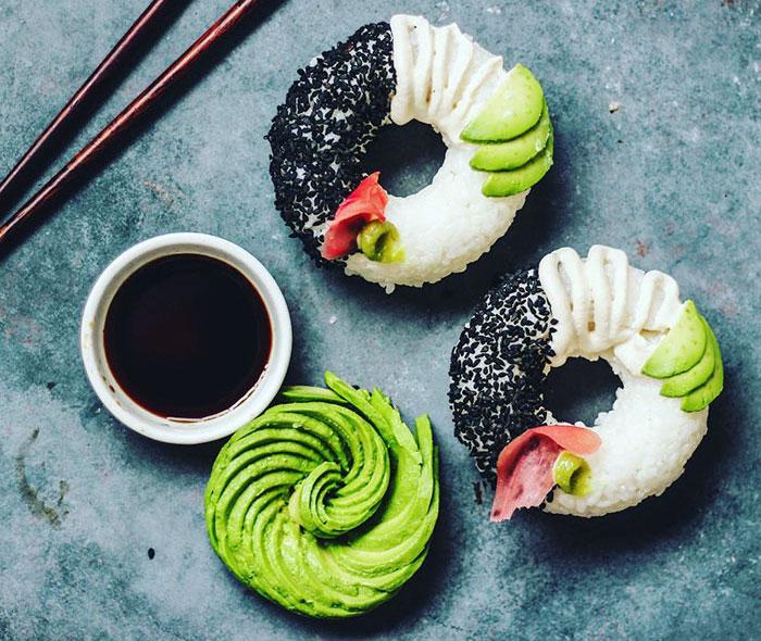 Sushi Anti Mainstream dengan Bentuk Donat