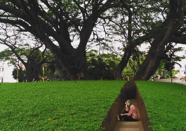 Ridwan Kamil Memperkenalkan Taman Labirin Baru di Balai Kota Bandung