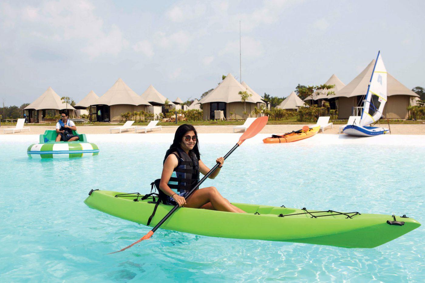 Inikah Kolam Renang Terbesar di Asia Tenggara?