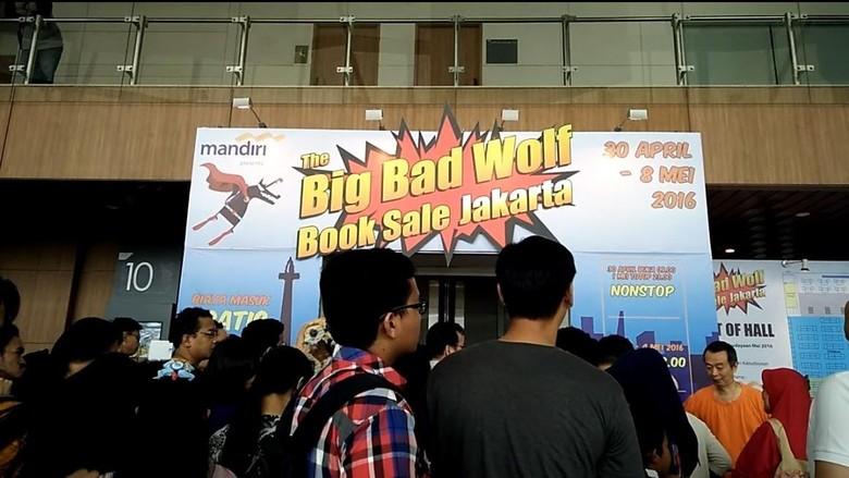 Liburan Pecinta Buku di Pameran Terbesar Big Bad Wolf Books Indonesia