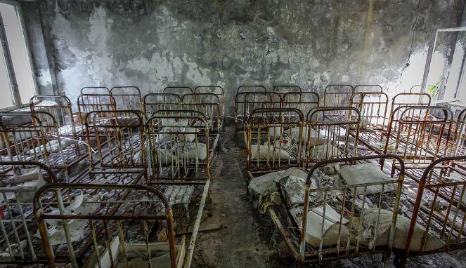 Foto-Foto Area Terlarang Chernobyl Setelah 30 Tahun