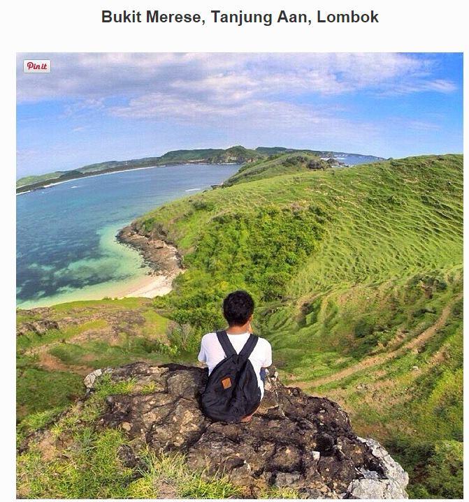 bukit-merese-tanjung-aan-lombok-timur