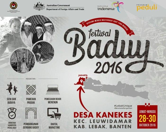 Festival Baduy 2016