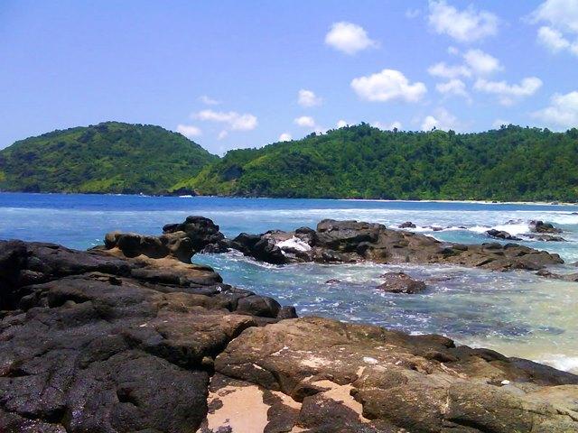 Lanskap Pantai Wediombo