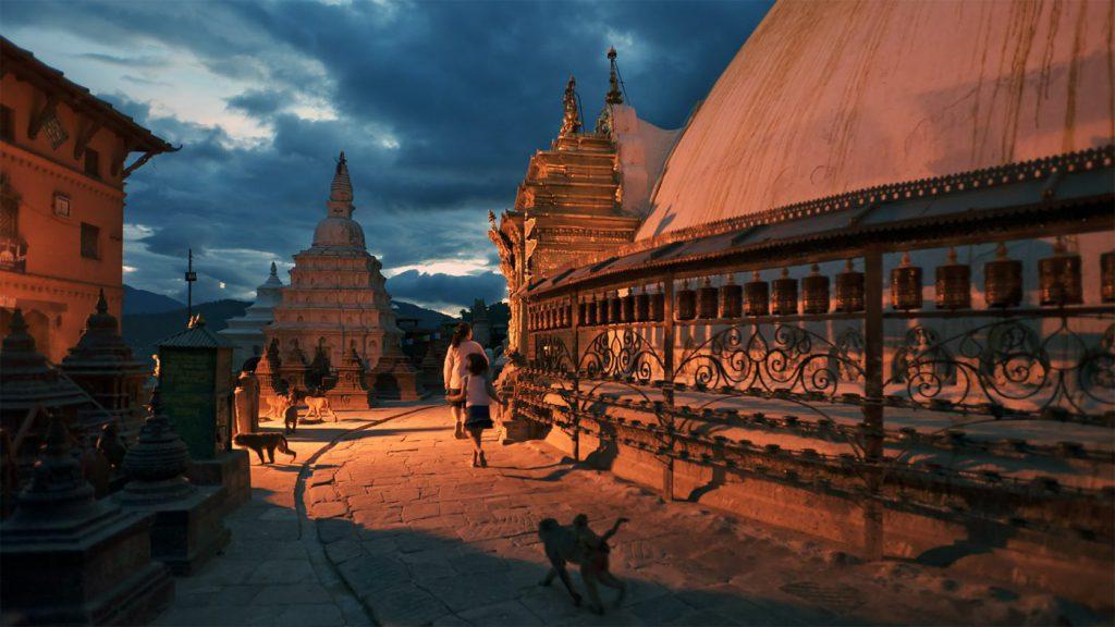 nepal_kathmandu_night_swayambhunath_6