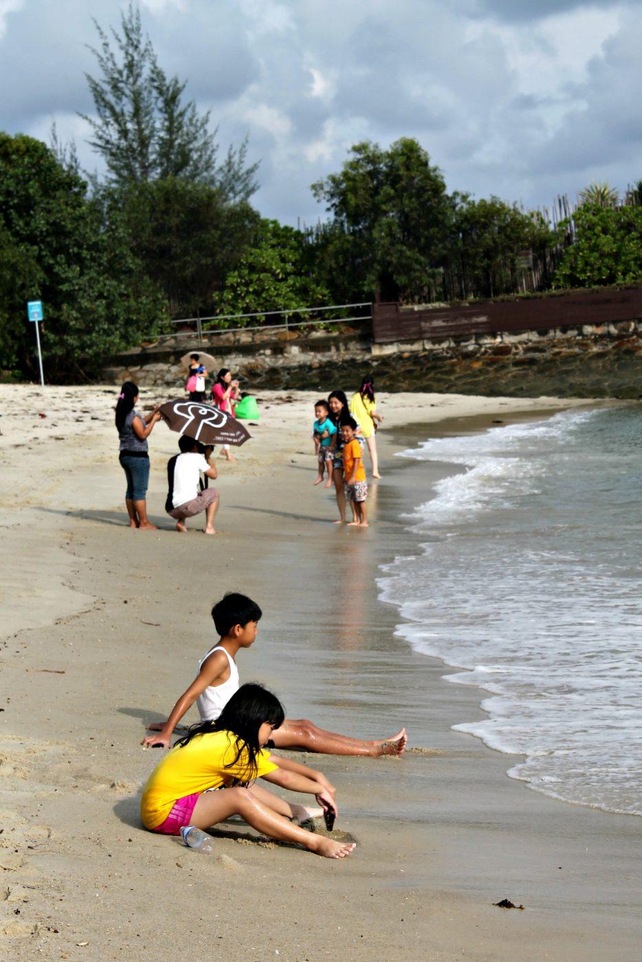 Siloso Beach (Istimewa/Ruth Nina)