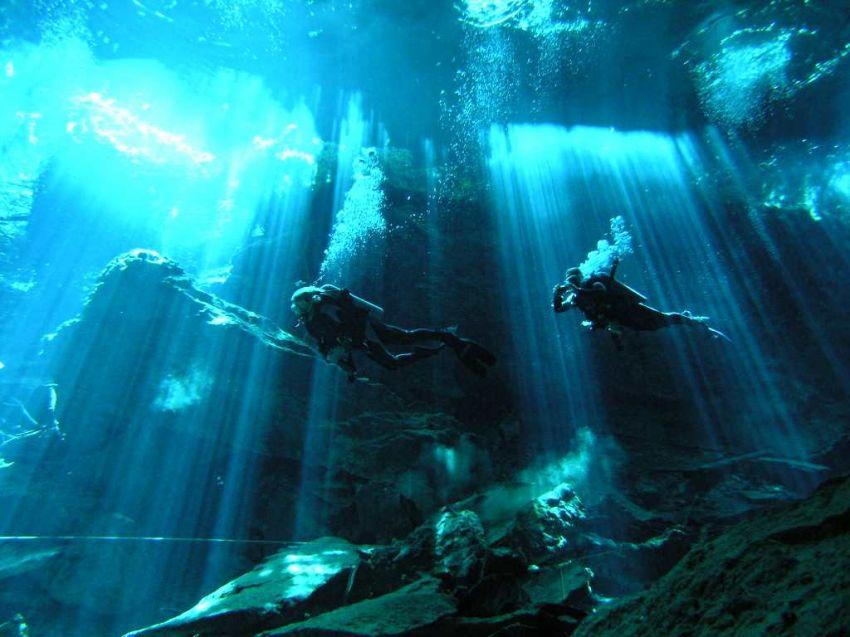 Sungai Bawah Air di Meksiko