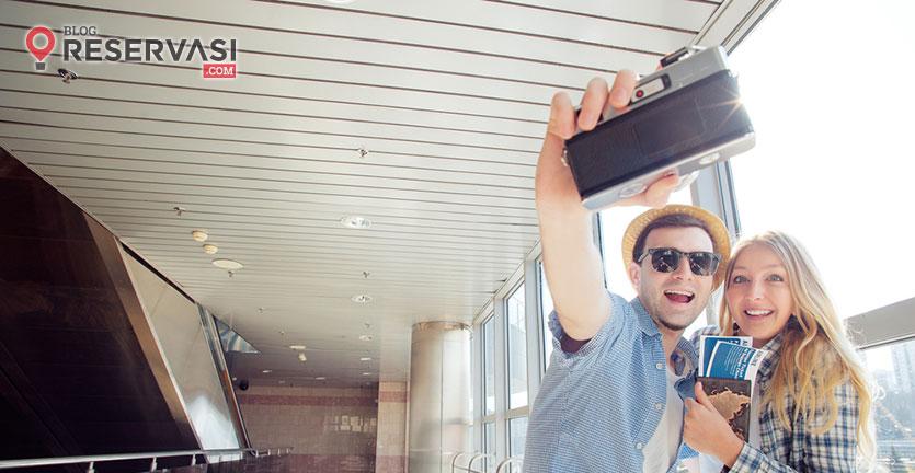 Saat Delay, Traveler Ini Rekam Aksi Lucu di Bandara
