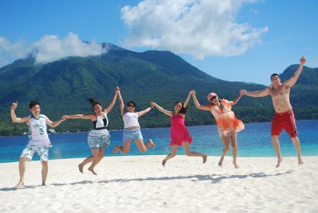Salah satu pantai di Filipina