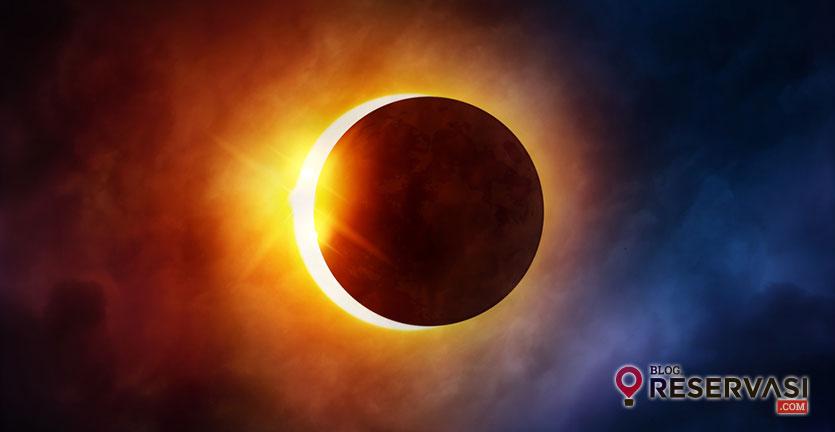 Mau Nonton Gerhana Matahari? Ini Barang yang Perlu Kamu Bawa