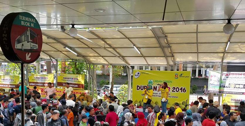 Heboh, Festival Durian Jakarta Disesaki Maniak Durian