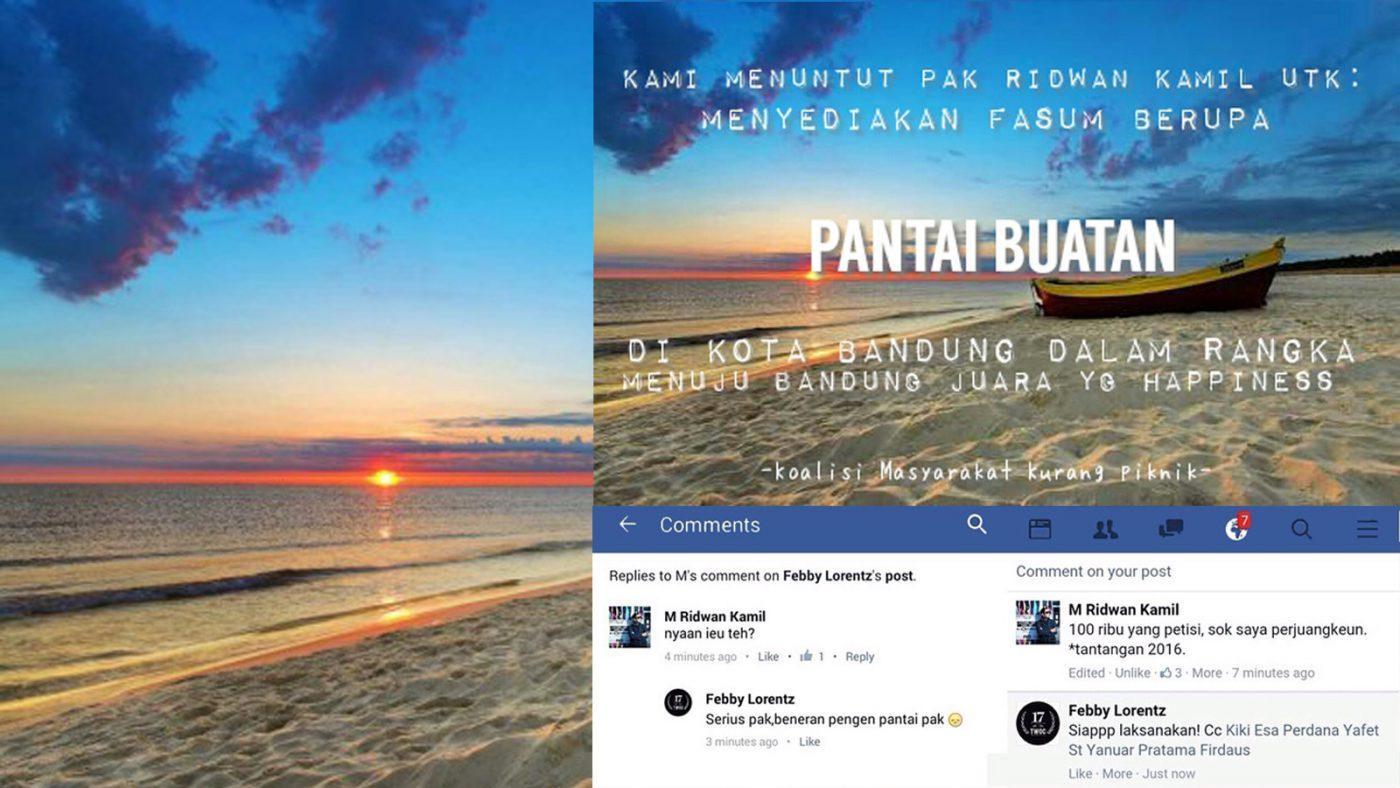 Ridwan Kamil : Hey Netizen, Kalian Kurang Piknik!
