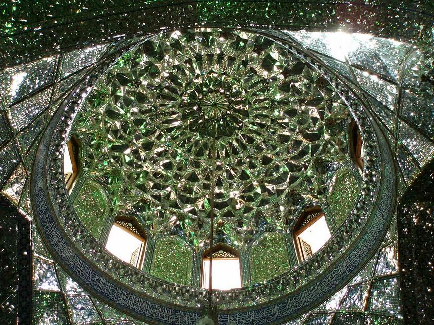 Kubah masjid Shah Cheragh