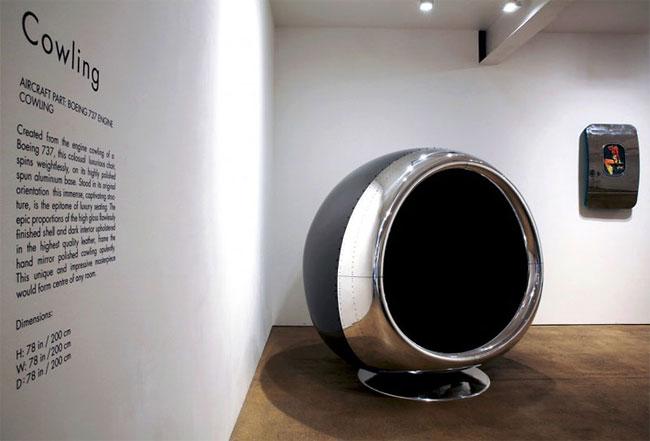 Kursi Dari Mesin Pesawat