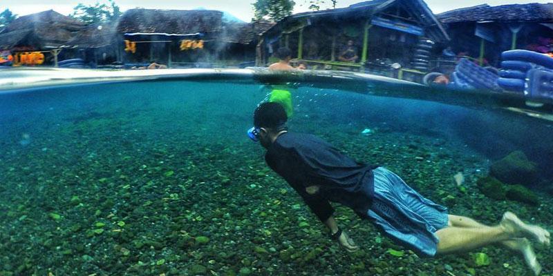 Mata Air Cikoromoy, Tak Pernah Kering Saat Kemarau
