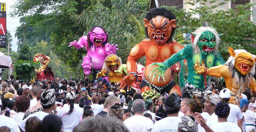 Persiapkan Diri Kalian Untuk Menyambut Festival Ogoh-Ogoh di Bali