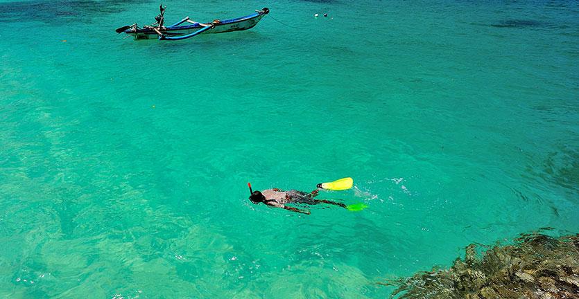 Pesona Keindahan Pantai Perawan Teluk Hijau Banyuwangi