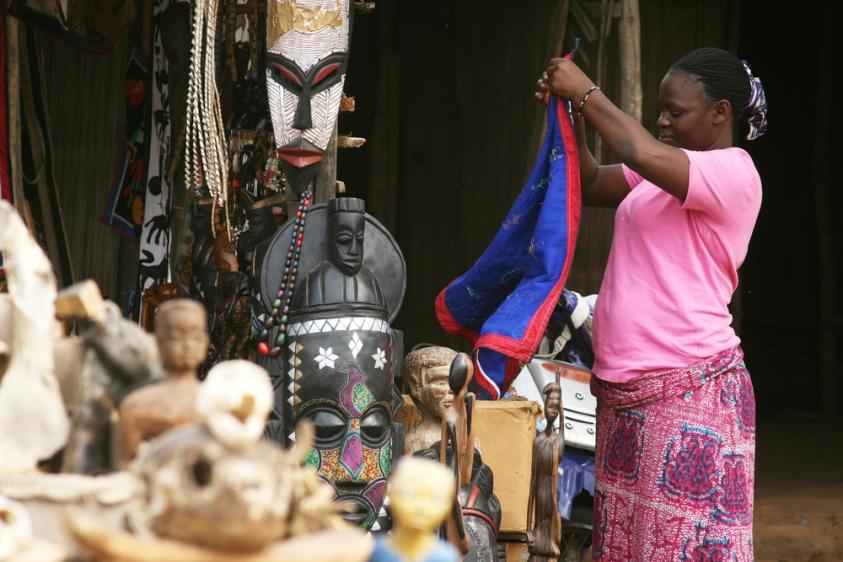 Voodoo Market, Pasar Seram di Benin, Afrika Barat