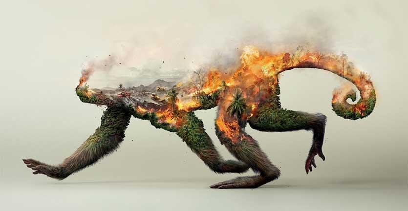 Poster Mengagumkan Tentang Kampanye Perlindungan Alam