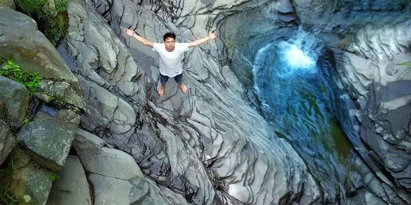 Lembah Sigelap Wonosobo, Menatap Keindahan Batuan Unik 3 Dimensi