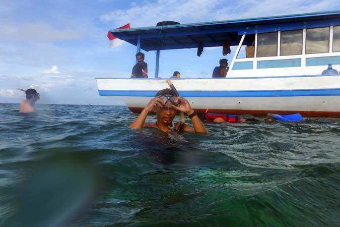 snorkling-di-sekitar-pulau-semak-daun